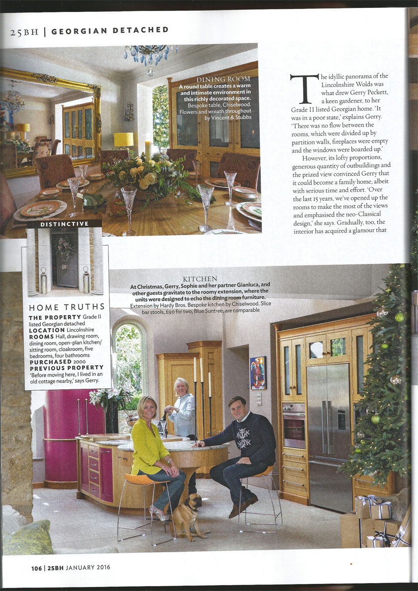 25 Beautiful Homes Kitchens: 25 Beautiful Homes Sophie Peckett Design, London & Surrey