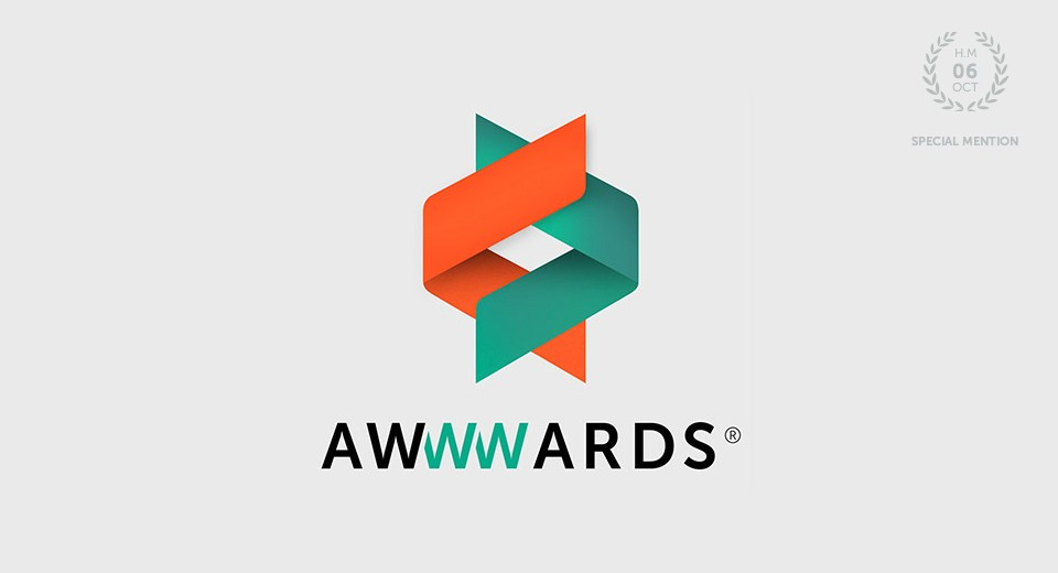 Sophie Peckett Designs wins Special Mention on the Awwwards