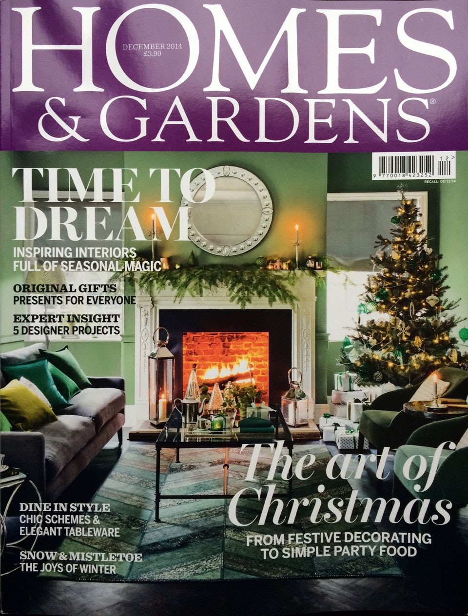 Sophie Peckett Design feature in Homes and Gardens Magazine
