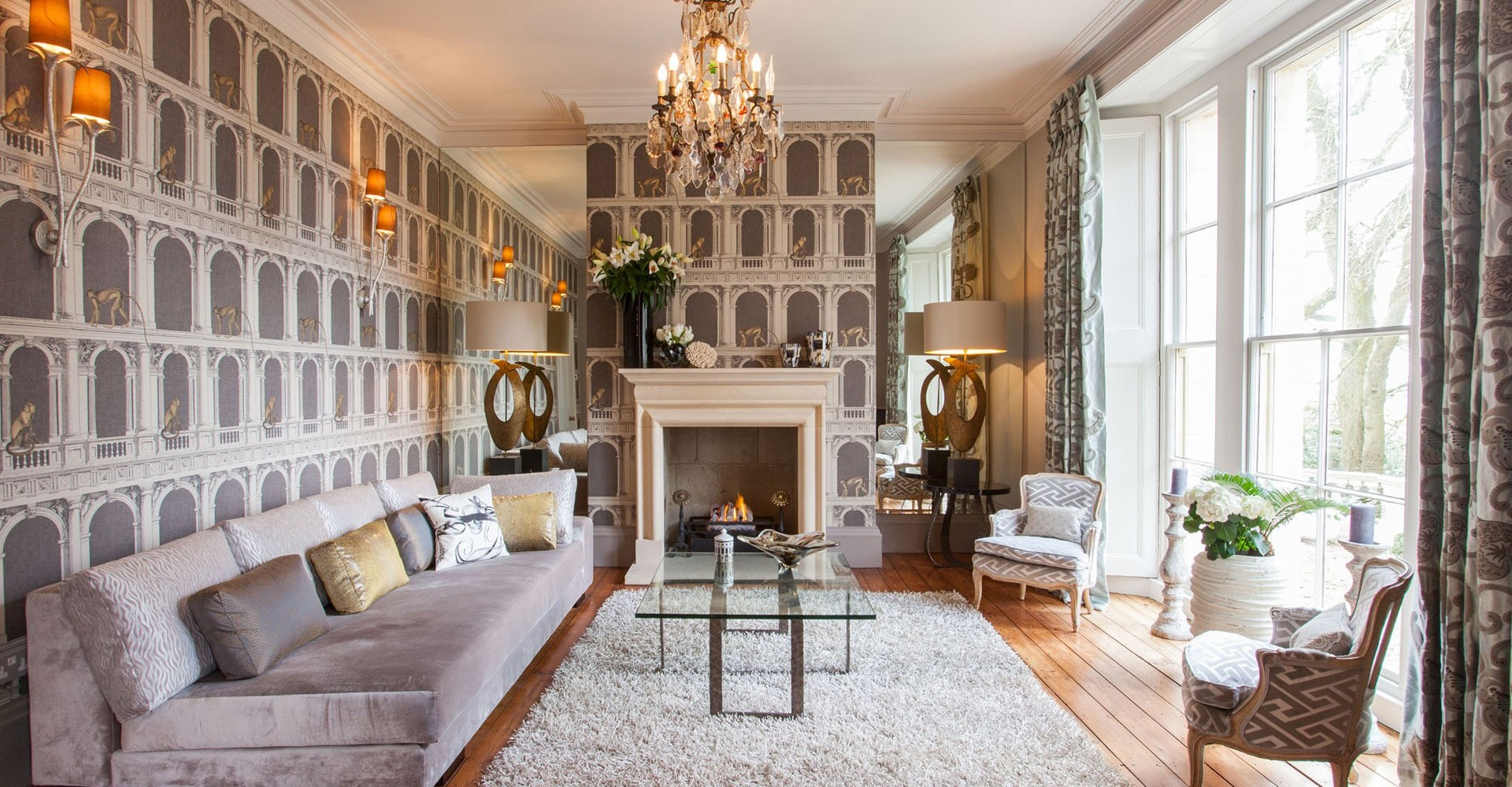 Manor house sophie peckett design london surrey for Interieur english